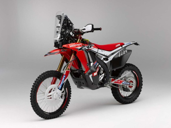 CRF450 Rally (Bild: Honda)